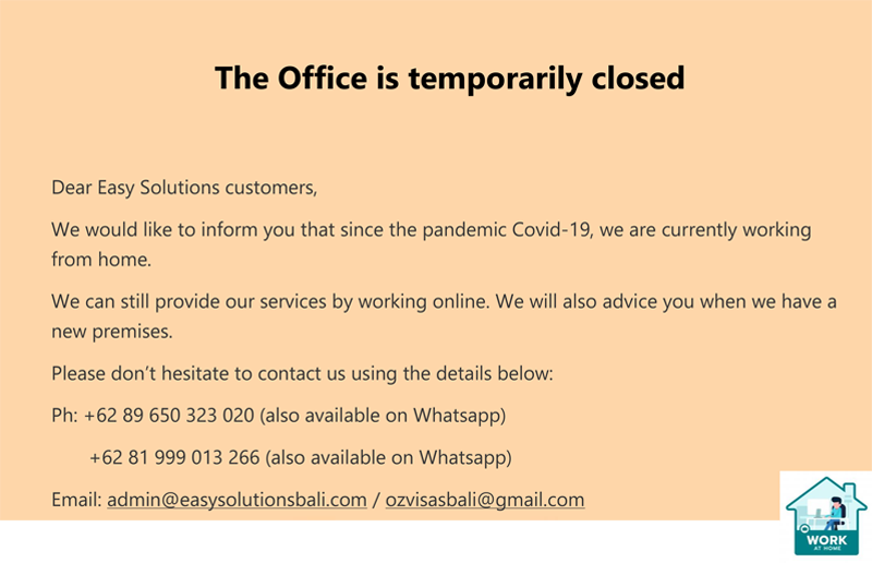 Temporarily Close